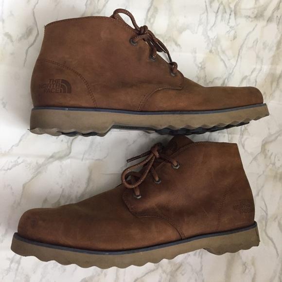 The North Face Mens Leather Ballard